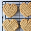Turn those peanut butter cookies heart shaped