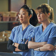Cristina And Meredith In 'Grey's Anatomy'