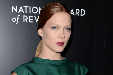 Lea Seydoux Schools Us in the Dark Lip