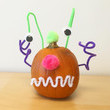 Pipe Cleaner Pumpkin