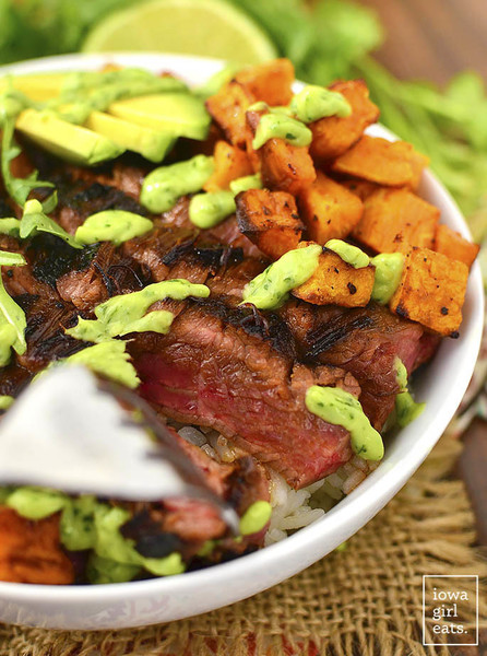 Throw Together A Steak And Sweet Potato Bowl