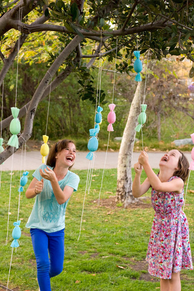 Make an egg popper tree