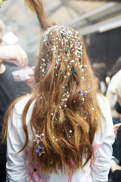 Sequined Strands