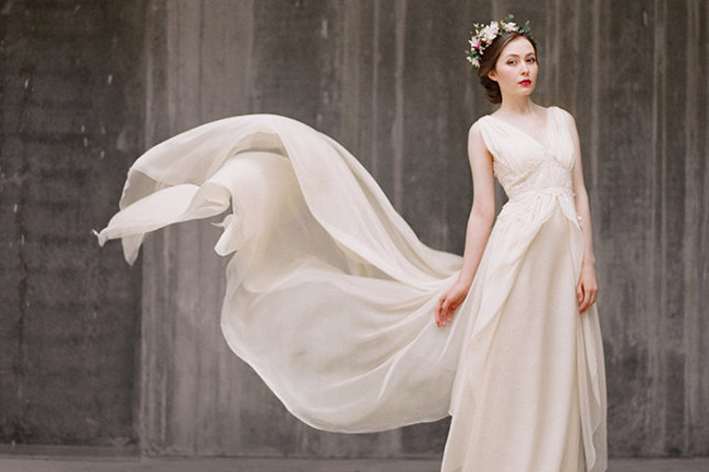 The Prettiest Handmade Wedding Dresses On Etsy