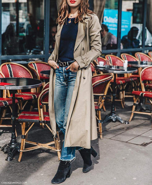 Finish Your Look With a Long Lightweight Coat