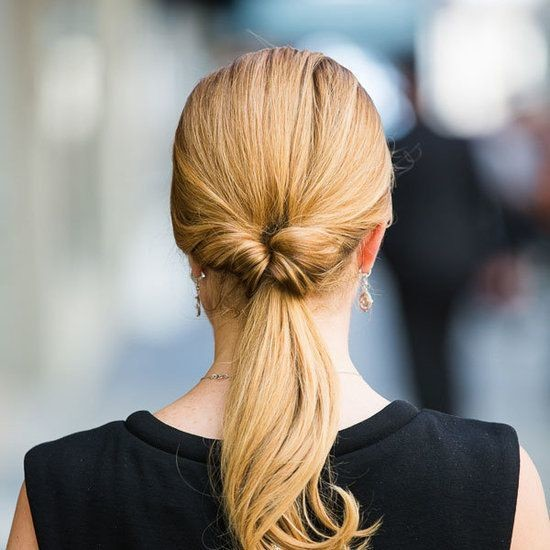 Try A Pull-Through Ponytail