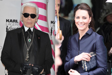 Karl Lagerfeld Offers His Opinion of Kate Middleton