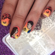 back to school nails couple