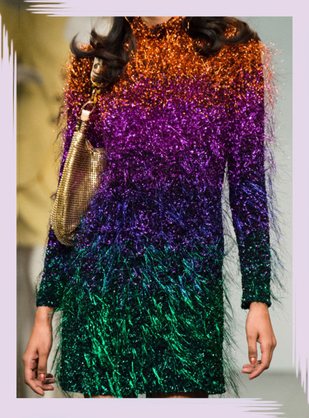 The Most Colorful Runway Details From London Fashion Week, Fall 2018