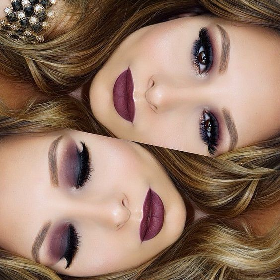 Deep Burgundy Beauty