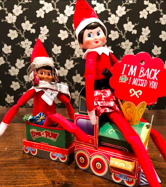 They both love and hate that Elf on the Shelf