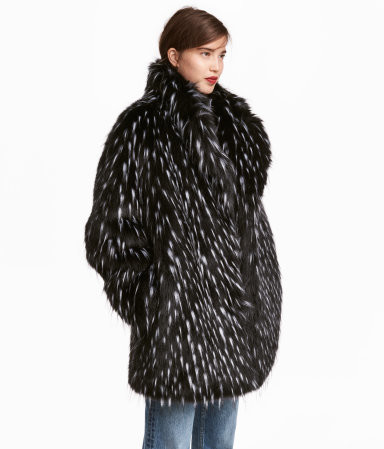 Spotted Fur Coat