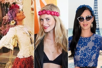 Where Celebrities Get Their Festival Flower Crowns