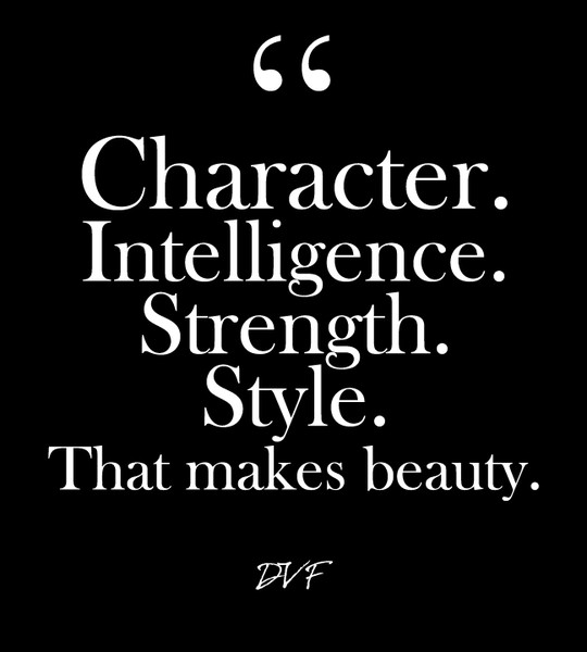 Character Intelligence Strength Style That Makes