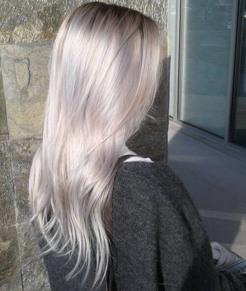 Metallic Pearl Blonde