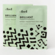 Feel Beauty Brilliant Bamboo Charcoal Facial Sheet Mask