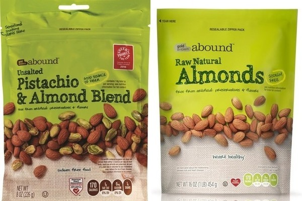 Raw Unsalted Almonds & Pistachios