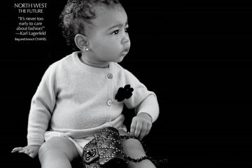 Baby North West's Modelling Debut