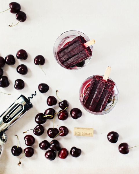 Cherry Winesicles