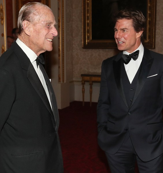 Prince Philip And Tom Cruise