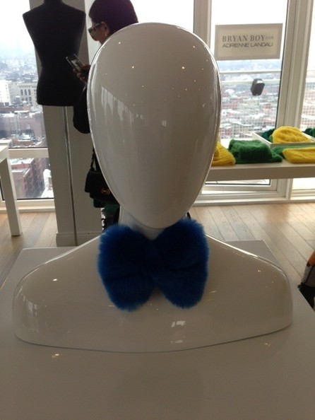 BEHOLD - A Fur Bow Tie