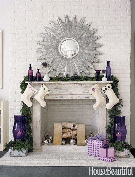 Purple Mantel