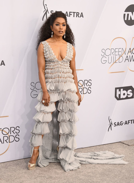 Angela Bassett In Georges Chakra Couture