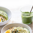 Egg Avocado Pesto Quinoa Bowl