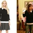 Zooey Deschanel's Illusion Layered Pullover on 'New Girl'