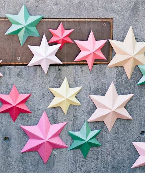 3D Star Baners