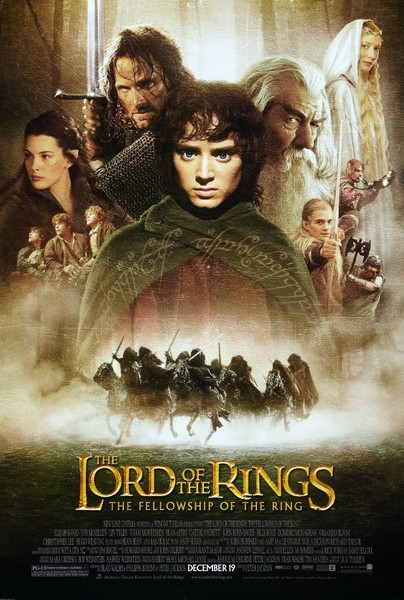 Lord of the Rings: The Fellowship of the Ring (2001, PG-13)