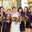 All of you who love purple palettes: Autumn and violet are a match made in wedding heaven.
