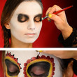 Cherry Red Sugar Skull Tutorial
