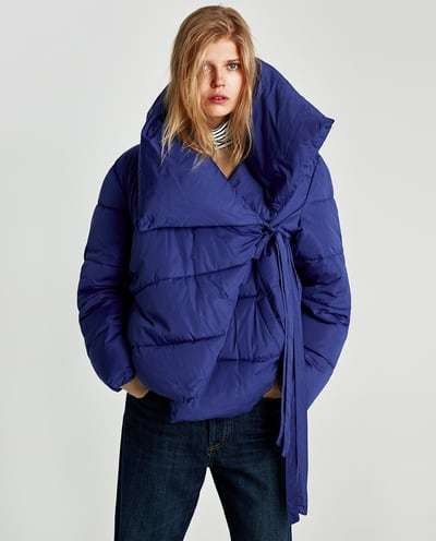 Assymetric Quilted Jacket