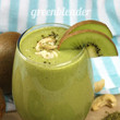 "Pineapple Kiwi ""Kalm"" Smoothie"