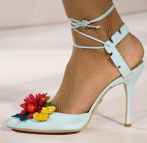 London's Fab Runway Footwear for Spring 2017