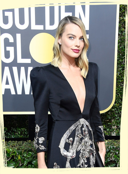 The Most Daring Black Dresses at the 2018 Golden Globe Awards
