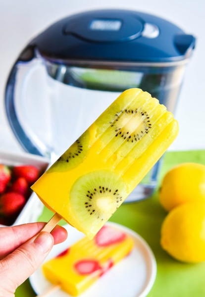 All Natural Mango Popsicles