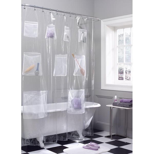 Organization Tip #27: Use Your Shower Curtain