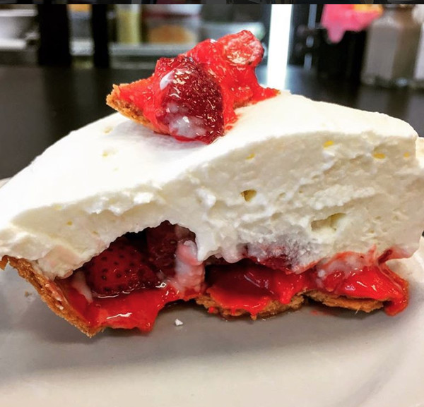 LOUISIANA: Ice Box Pie at Strawn's Eat Shop in Shreveport