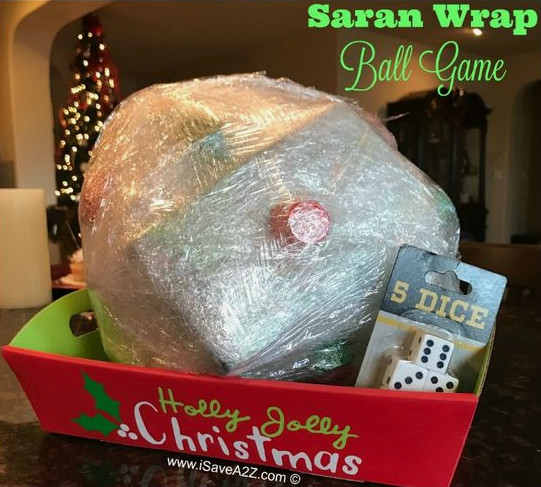 Play the saran wrap game
