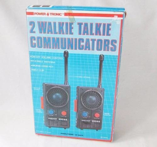 Popular Toys In 1973 : Walkie talkie sets the most popular christmas toy