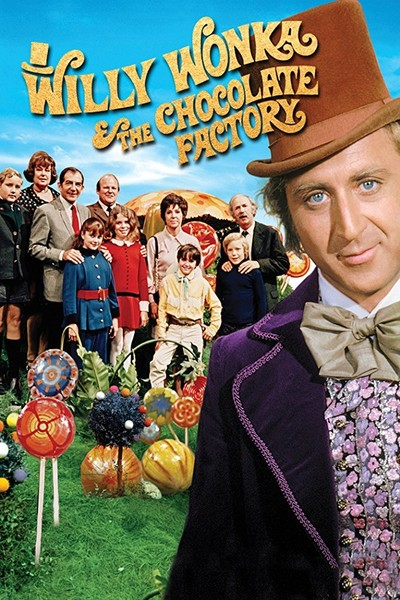 Willy Wonka and the Chocolate Factory (1971, G)