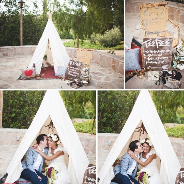 Make Memories In A Teepee Photo Booth
