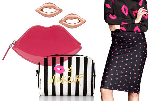 Pucker Up To These Lip-Print Pieces