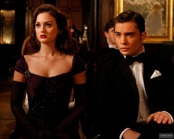 Blair and Chuck from 'Gossip Girl'