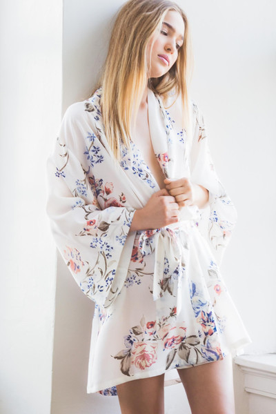 Pure Silk Glow Robe