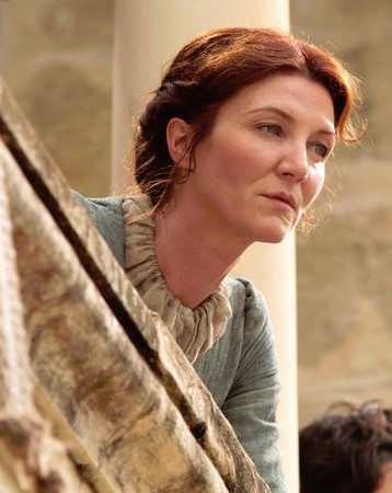 Catelyn Stark's Simple Updo