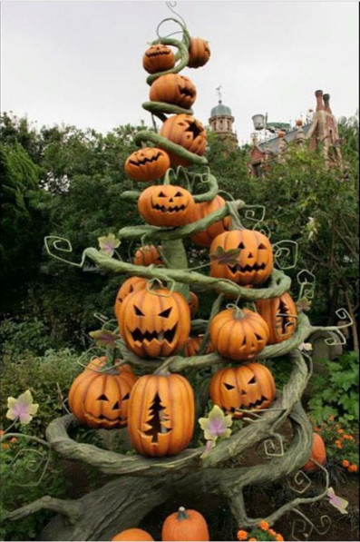 Oh pumpkin tree the coolest halloween carving