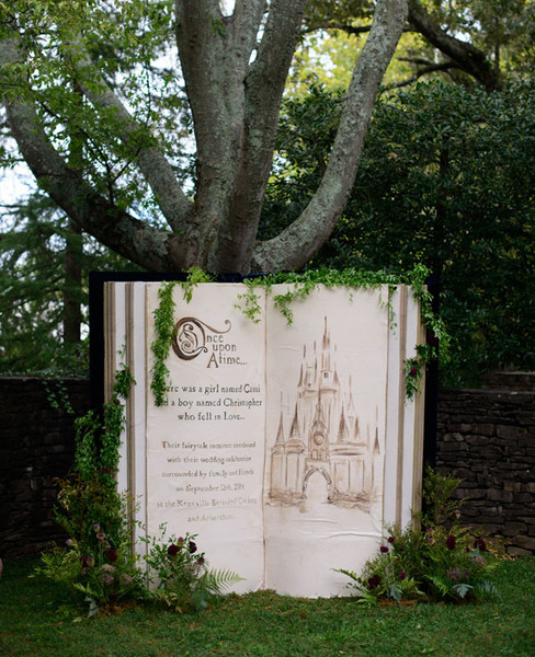 Fairytale Book Backdrop